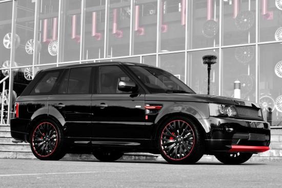 Project Kahn  Range Rover Sport Diablo