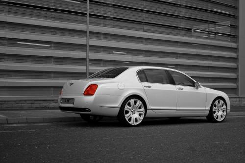 Project Kahn s Pearl White Bentley Flying Spur - Жемчужина в короне