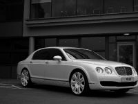 Project Kahn Pearl White Bentley Flying Spur, 1 of 5