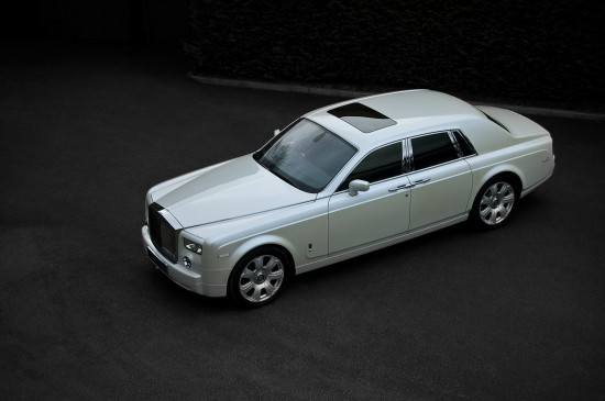 Project Kahn Pearl White Rolls Royce Phantom
