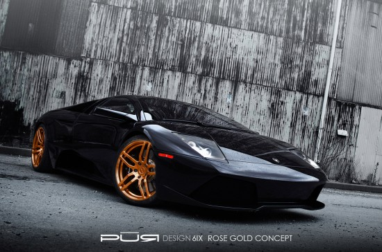 Pur 6IX on Lamborghini Murcielago LP 630
