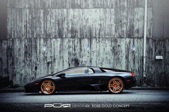 Pur 6IX on Lamborghini Murcielago LP 630