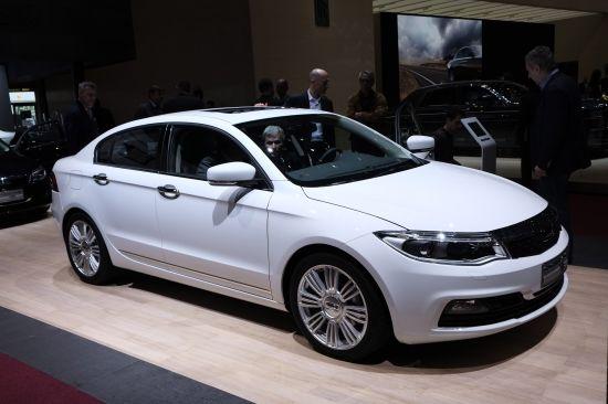 Qoros 3 Sedan Geneva