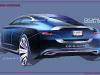 Qoros 9 Sedan Concept, 7 of 7