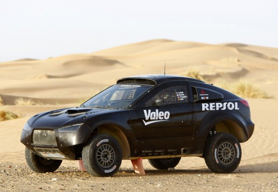 Racing Lancer Makes Its Competition Debut