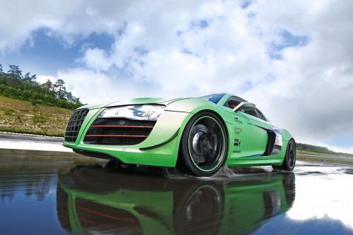 Гонки Один Audi R8 V10 5.2 Quattro