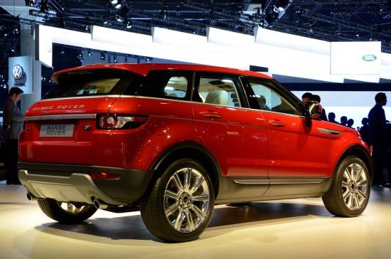 Range Rover Evoque 5-door Los Angeles