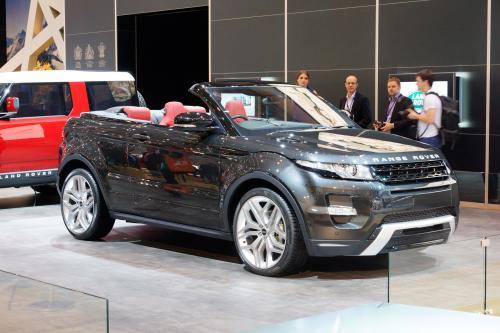 2012 Geneva Motor Show: Range Rover Evoque Convertible