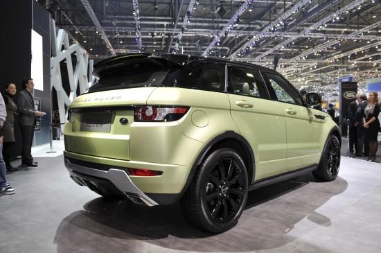 Range Rover Evoque Geneva