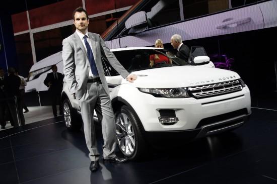Range Rover Evoque Paris