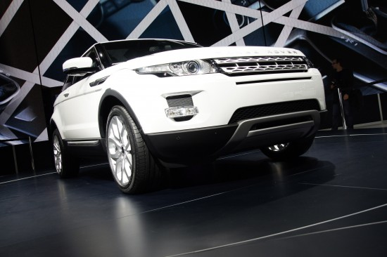 Range Rover Evoque Paris