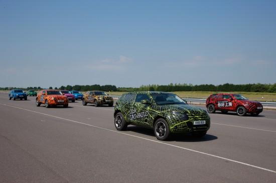 Range Rover Evoque Prototypes