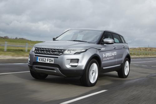Range Rover Evoque оснащен первой в мире 9-ступенчатая автоматическая коробка передач