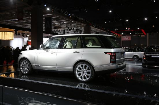 Range Rover Paris
