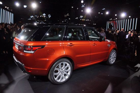 Range Rover Sport New York