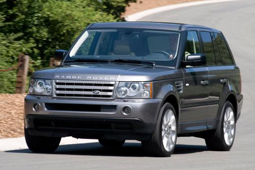 Land Rover 2009 на Auto Show
