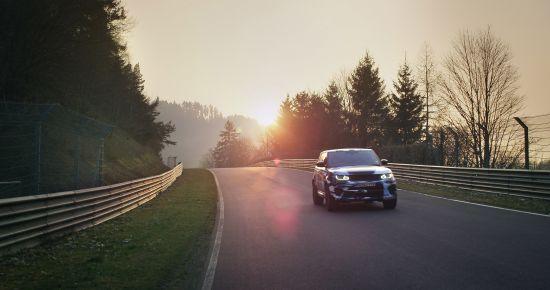 Range Rover Sport SVR Prototype