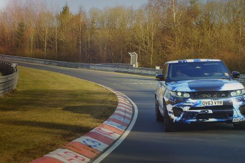 Jaguar Range Rover Sport SVR prototype готов сняться в последнем фильме Джеймса Бонда