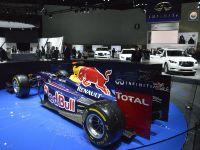 Red Bull Racing F1 car Los Angeles 2012