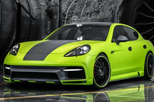 Regula Exclusive Porsche Panamera в углеродного волокна