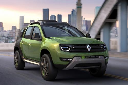Renault DCross Concept Представила