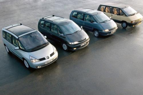 Renault Празднует Espace Серебряного Юбилея - В Течение Четырех Поколений Первой Mpv