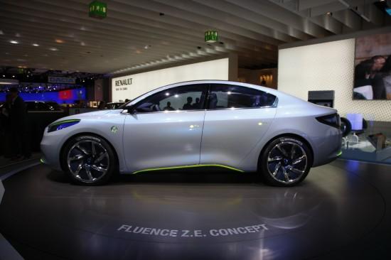 Renault Fluence Z.E. Concept Frankfurt