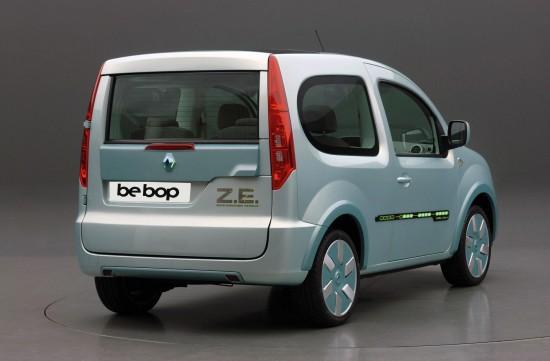 Renault Kangoo be bop Z.E. prototype