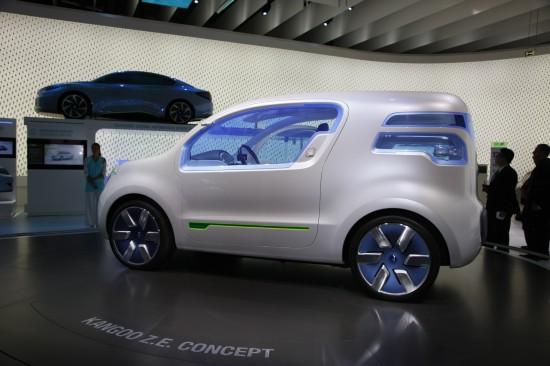 Renault Kangoo Z.E. Concept Frankfurt