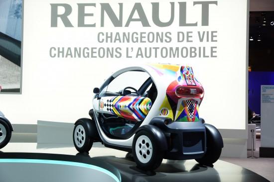 Renault Twizy Paris