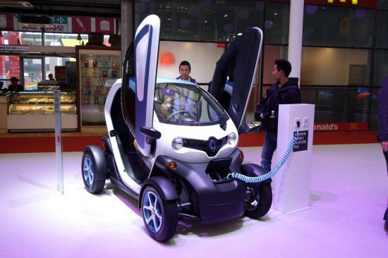 Renault Twizy Shanghai