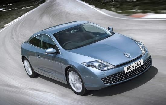 Renault Unveils Laguna Coupe
