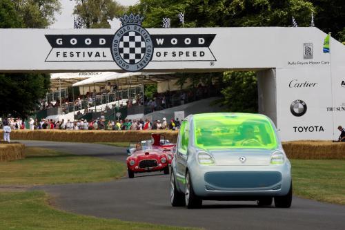 Renault Z. E. концепция шокировали публику в Гудвуде