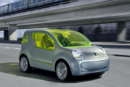 Renault Z. E. концепт, полностью электрический концепт-кар, который дает представление о мобильности в будущем