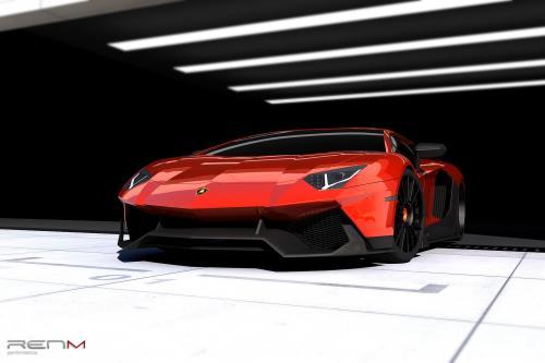RENM Lamborghini Aventador LE-C - фотография lamborghini