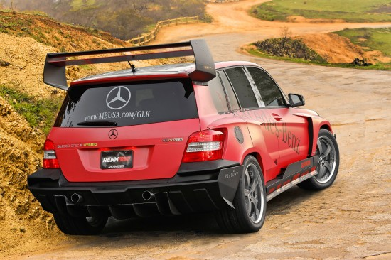 RENNTech Mercedes-Benz GLK Pikes Peak Rally Racer