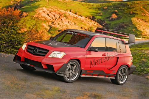 Mercedes-Benz GLK the pikes peak rally racer by renntech