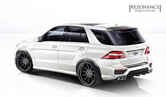 Revozport Mercedes-Benz W166 ML63 Rezonance
