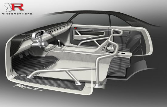Ringbrothers SEMA Chevrolet Chevelle Sketch