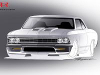 Ringbrothers SEMA Chevrolet Chevelle Sketch , 1 of 4