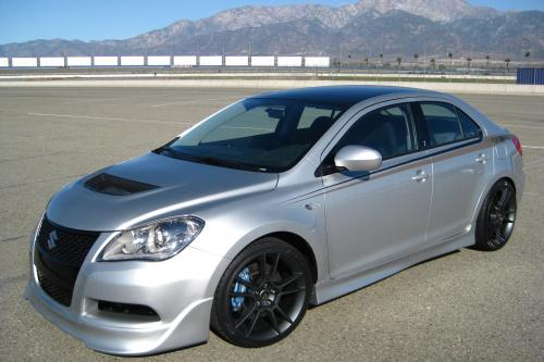 Platinum Edition Suzuki Kizashi, Road Race Motorsport
