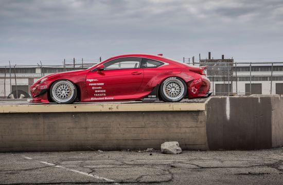 Rocket Bunny Lexus RC F SPORT