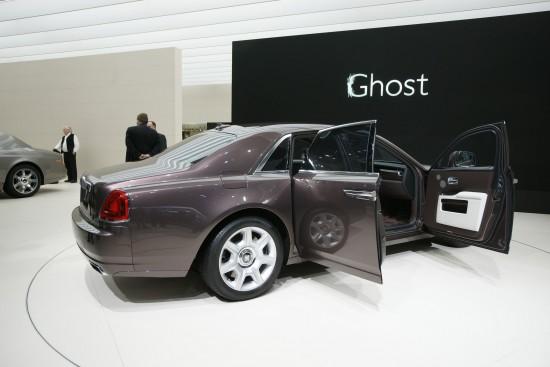 Rolls-Royce Ghost Frankfurt