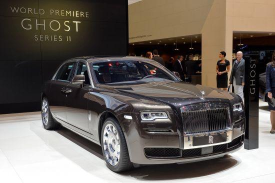 Rolls-Royce Ghost Series II Geneva