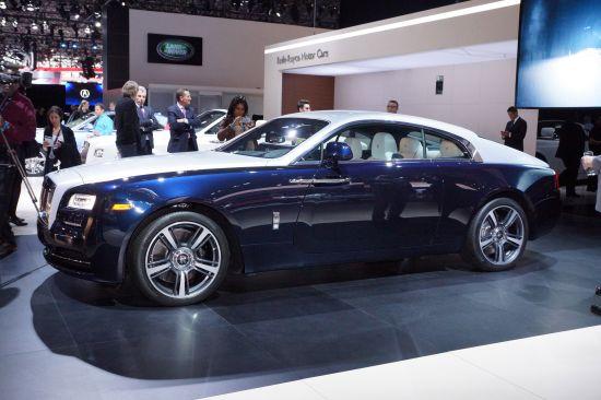 Rolls-Royce Wraith New York