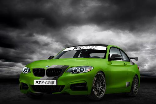 БМВ РС/M235i зеленый ад РС-Racingteam