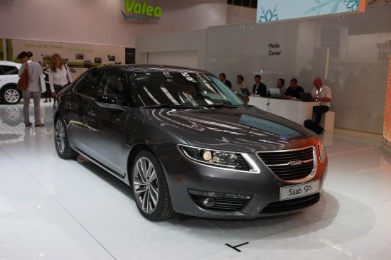 Saab 9-5 Frankfurt