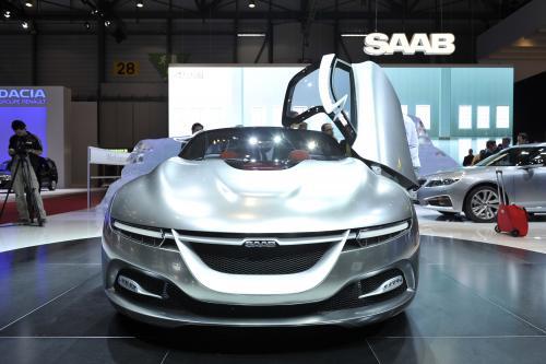 Женева 2011: Saab PhoeniX Concept [видео] - фотография saab