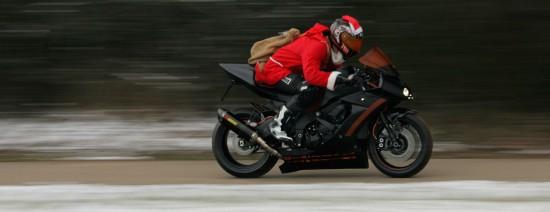 Santa Claus on Asphaltfighters STORMBRINGER