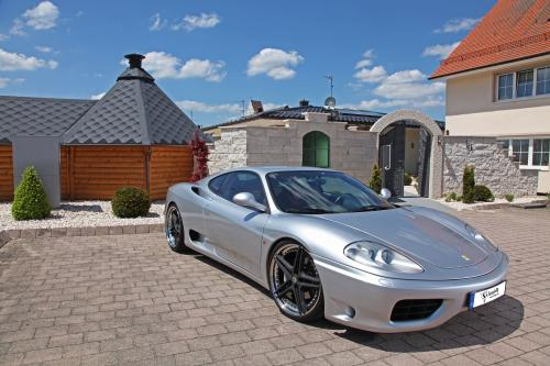 Шмидт революция усиливает Ferrari F360 и 575M